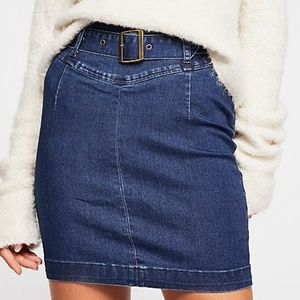 NWT - Free People Livin' It Up Pencil Skirt